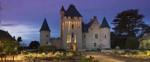 Chateau du Rivau by night www.loirevalleystay.com
