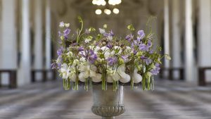 Experience all the beautiful bouquets of the Chenonceaux castel