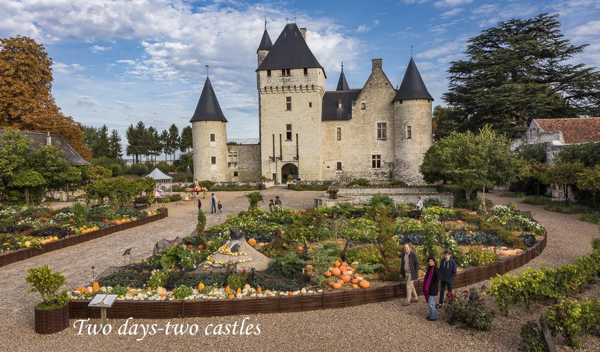 Rivau castle Loirevalleystay.com